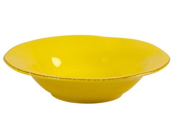 Gelbe Pastaschüssel im Toskana-Stil von RICE