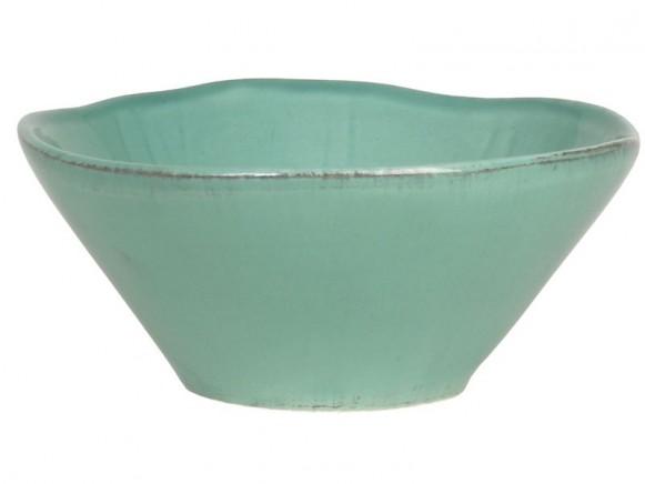 Jadegrüne Tonschüssel im Toskana-Stil von RICE