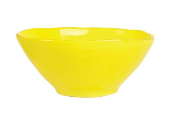 Kleine RICE Toskana Schüssel gelb