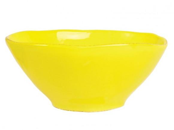 RICE Toskana Schüssel gelb
