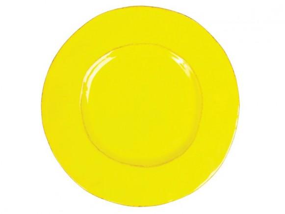 Grosser gelber Teller im Toskana-Stil von RICE