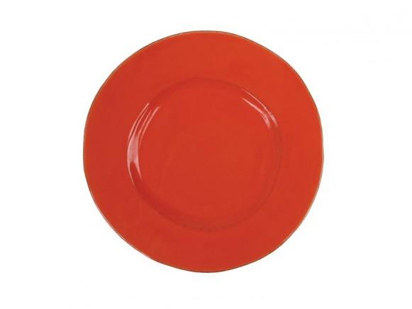 RICE Toskana Teller in orange