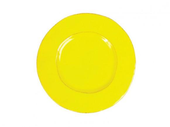 RICE Toskana Teller in gelb