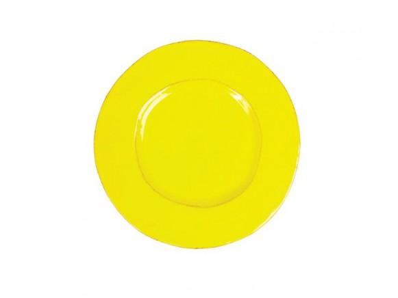 Kleiner gelber Teller im Toskana-Stil von RICE