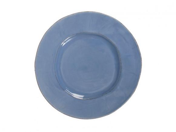 RICE Toskana Teller in dunstblau