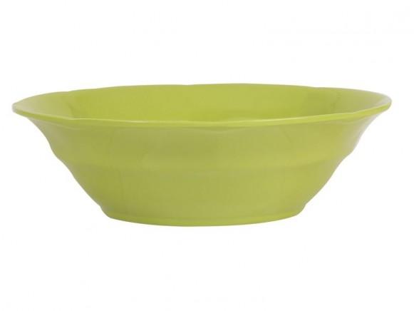 Suppenschüssel von RICE (grüngelb)