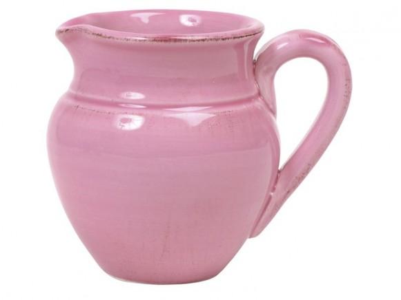 Rosa Milchkännchen im Toskana-Stil von RICE