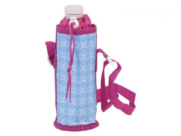RICE Kühltasche für 1/2-Liter-Flaschen (blau / rosa)