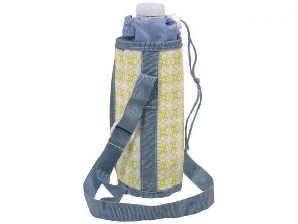 RICE Kühltasche für 1/2-Liter-Flaschen (grünblau)