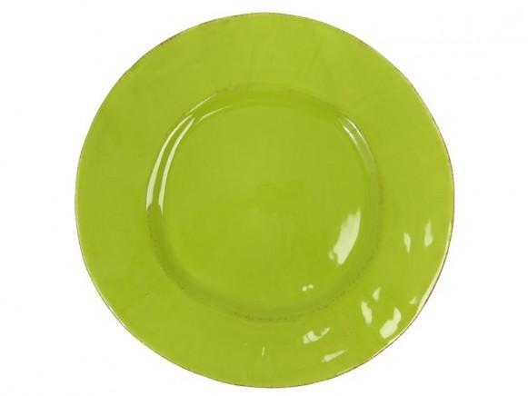 Grosser grüner Teller im Toskana-Stil von RICE