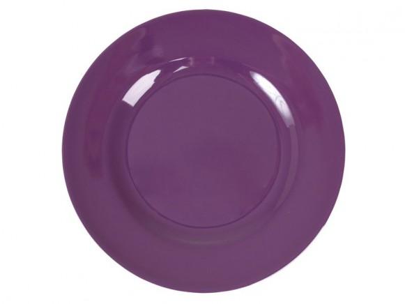 Grosser RICE Teller in violett