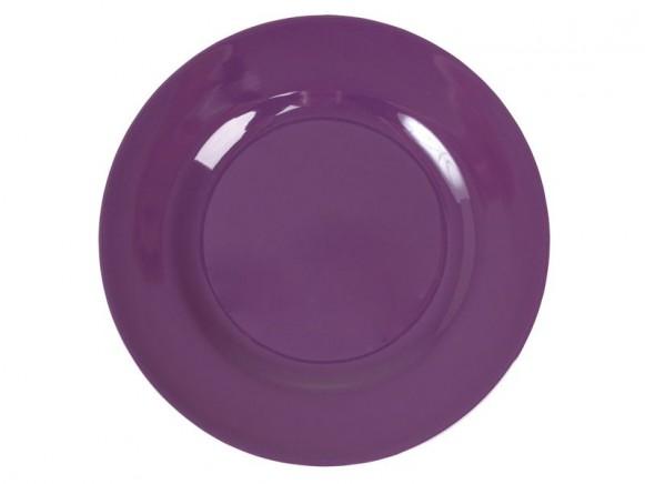 Kleiner RICE Teller in violett