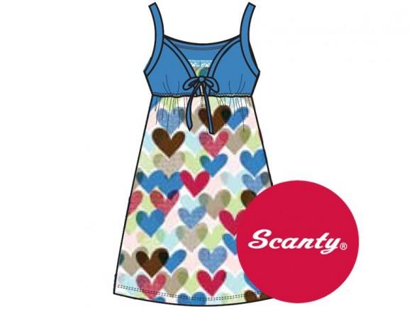 Baumwollkleidchen Sweetheart von Scanty