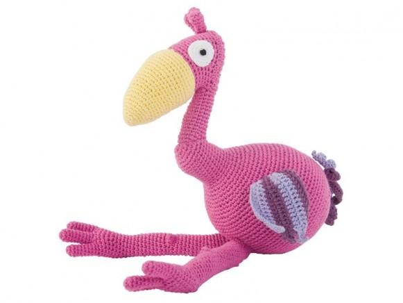 Gehäkelter Flamingo von Sebra