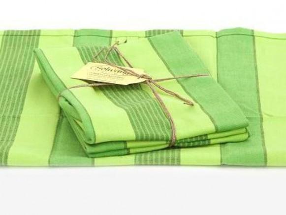 Geschirrhandtücher in Grüntönen von Solwang