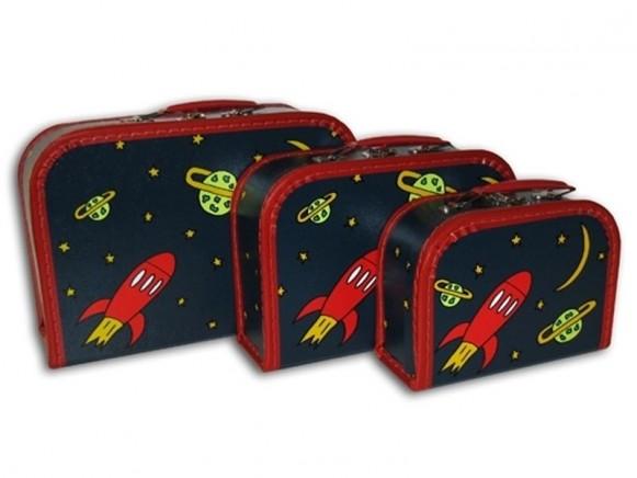 Kinderkoffer mit Rakete von TOYS & Company