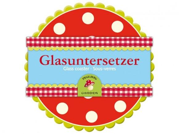 Glasuntersetzer Lustige Punkte von Spiegelburg