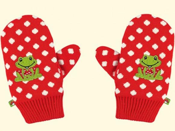 Kinder-Handschuhe Fröhliche Tupfen von Spiegelburg