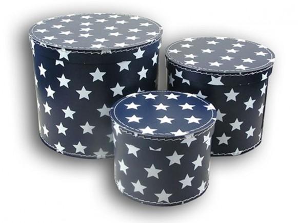 Box in blau mit Sternchen von TOYS & Company
