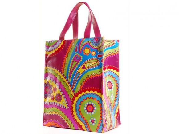Tepper Jackson Einkaufstasche Pink Kashmir