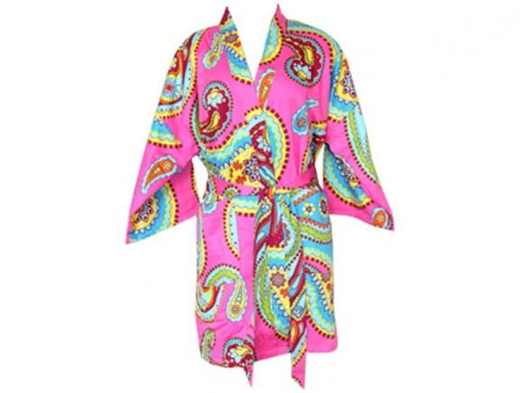 Tepper Jackson Kimono Pink Kashmir