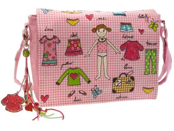 Wendekreis Canvas Tasche für Mädchen