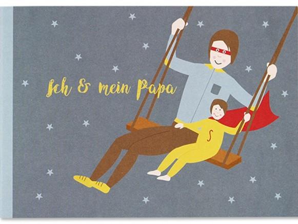 Ava & Yves Erinnerungsbuch ICH & MEIN PAPA