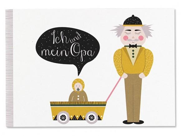 Ava & Yves Erinnerungsbuch ICH & MEIN OPA