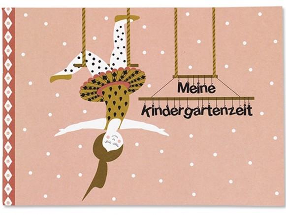 Ava & Yves Erinnerungsbuch Meine Kindergartenzeit ZIRKUSMÄDCHEN
