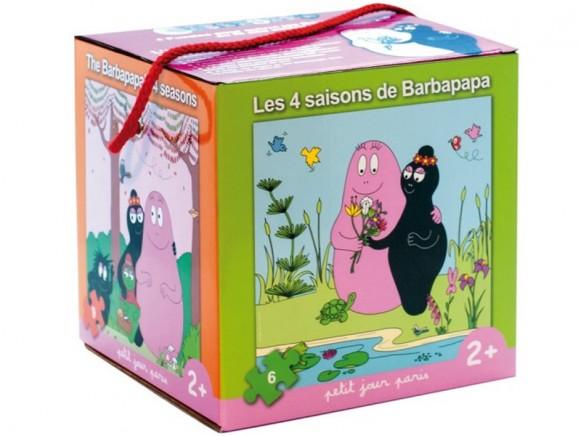 Barbapapa Puzzle Set