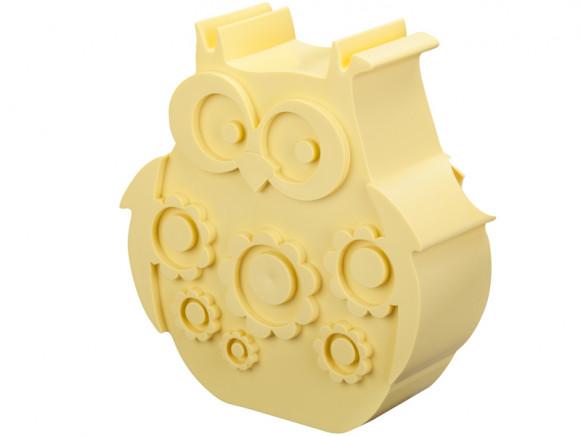 Blafre Lunchbox Eule pastellgelb