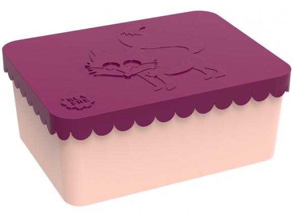 Blafre Lunchbox Fuchs pflaumenfarben klein