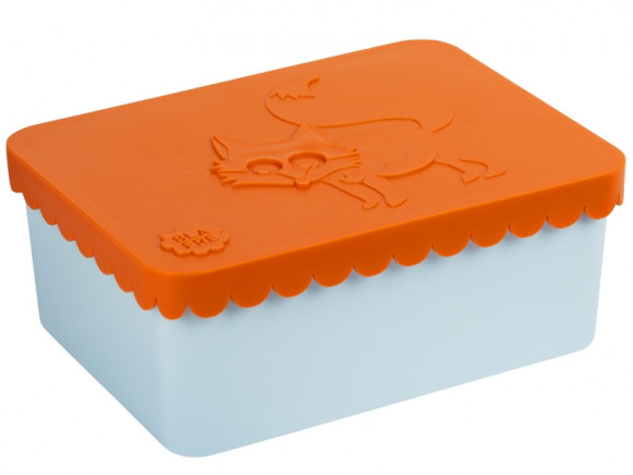 Blafre Lunchbox FUCHS orange-hellblau S