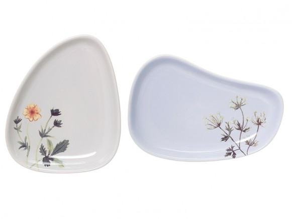 Bloomingville Teller Keramik Flora