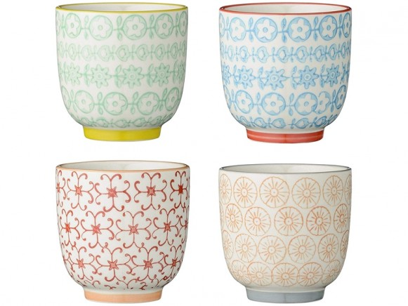 Bloomingville 4er-Set Carla Cups