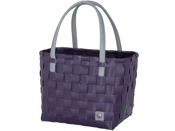 Handed By Shopper Color Block aubergine
