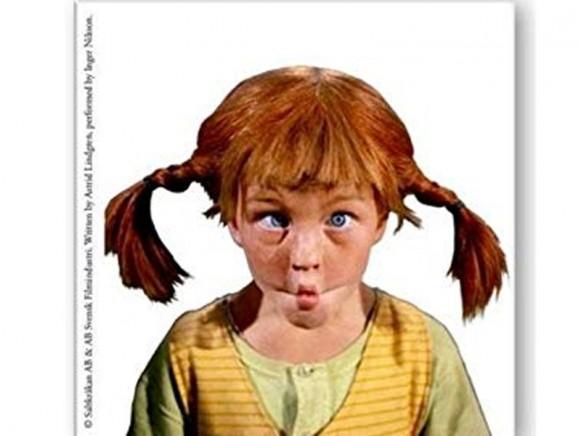 Pippi Langstrumpf Kühlschrankmagneten
