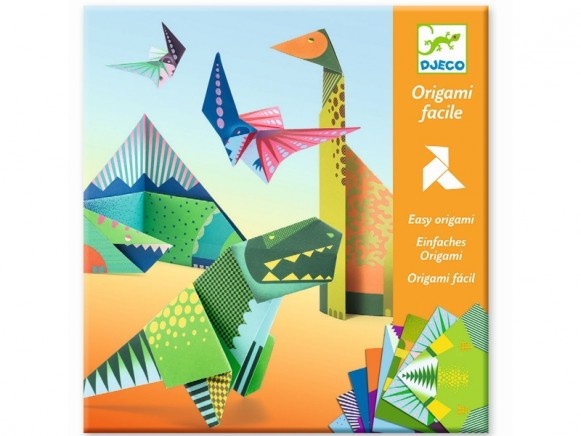 Djeco Einfaches Origami DINOSAURIER