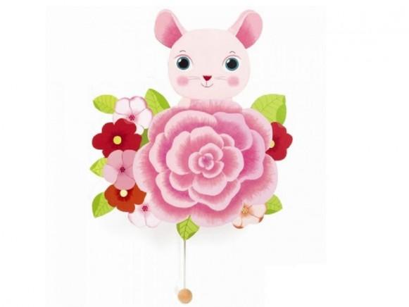 Djeco Wand-Spieluhr Maus
