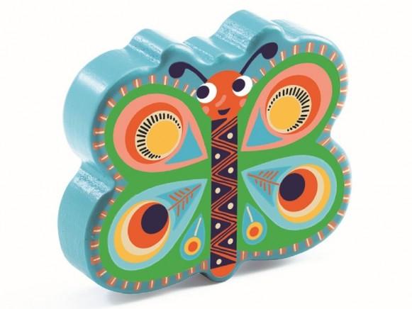 Djeco Animambo Schmetterlings-Maraca