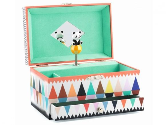 Djeco Spieluhr mit Schmuckkästchen PANDA