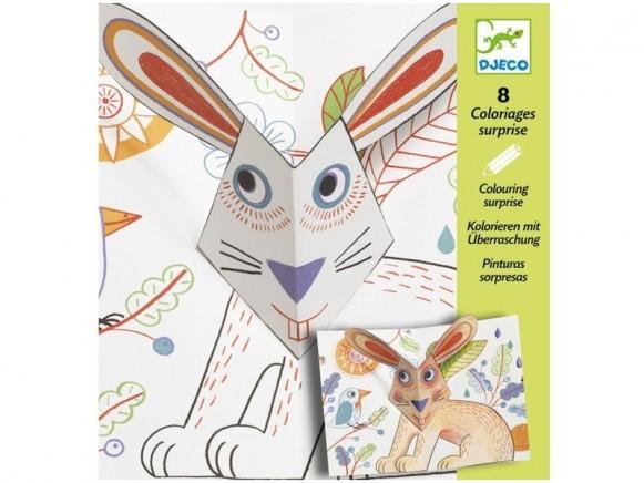 Djeco Malen mit Überraschung: Bunny up