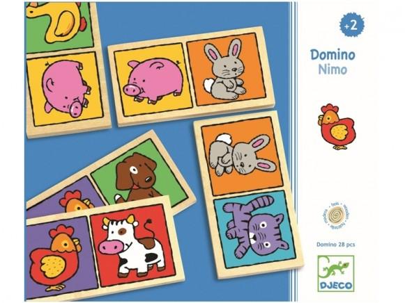 Djeco Lernspiel DOMINO-NIMO