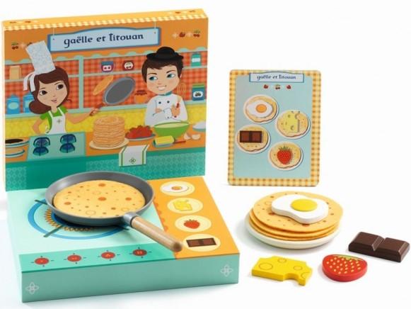 Djeco Rollenspiel Pfannkuchen GAELLE ET TITOUAN