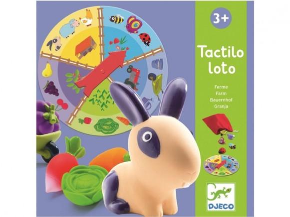 Djeco Tactilo Lotto BAUERNHOF