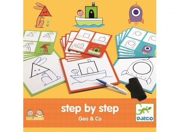Djeco Eduludo Step by Step GEO & CO