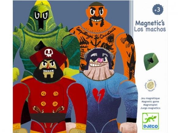 Djeco Magnetspiel Los Machos