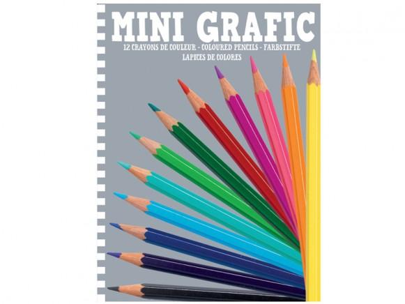 Djeco Mini-Grafik Buntstifte