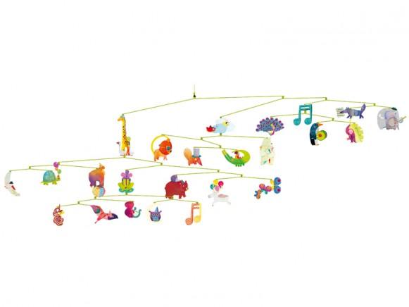 Djeco Mobile Karneval der Tiere