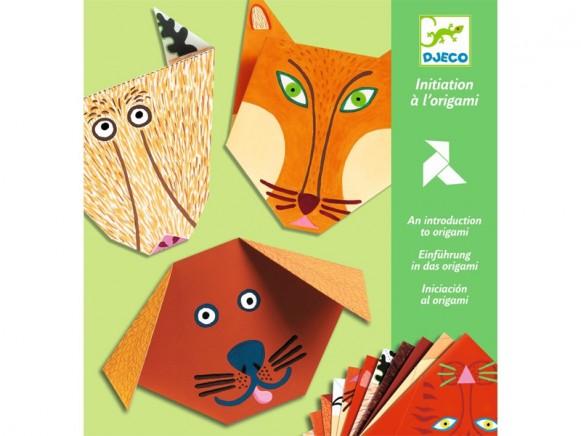 Djeco Einführung Origami Tiere